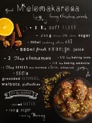 Melomakarona Recipe - Greek Honey Sweets